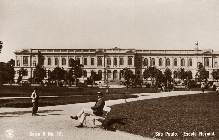 Escola Normal - Praça da República (1921)