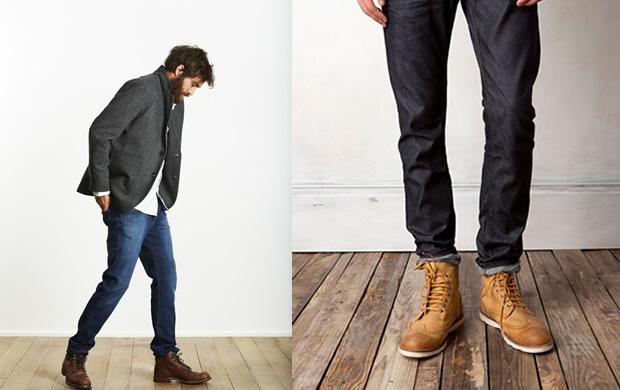 look masculino bota