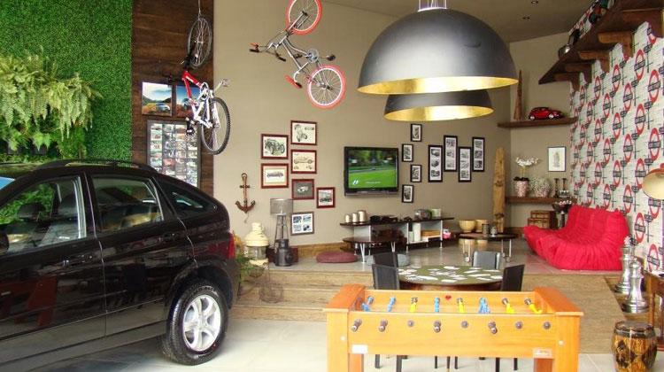 Como decorar e organizar sua garagem