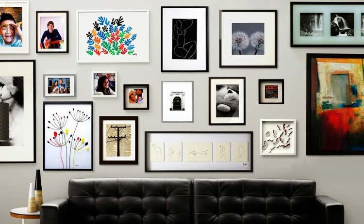 decoracao quadros parede