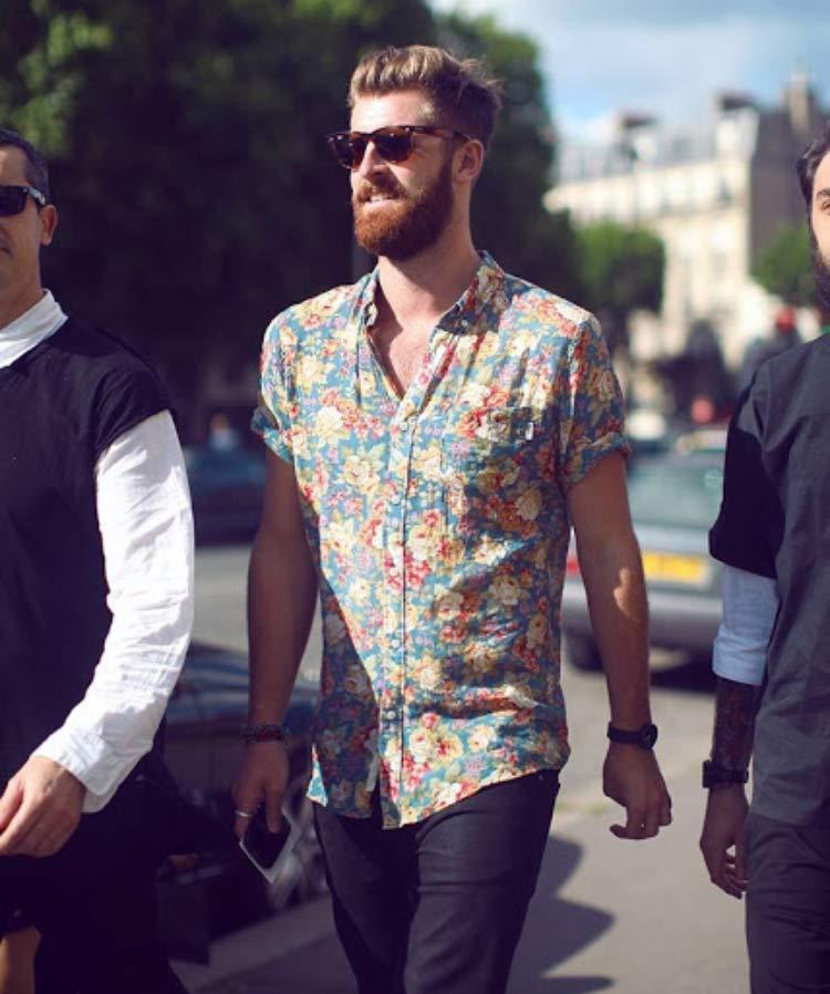camisa-floral-masculina-estilo