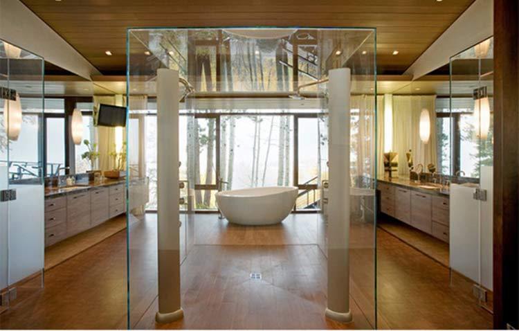 chuveiro-duplo-centro-banheiro