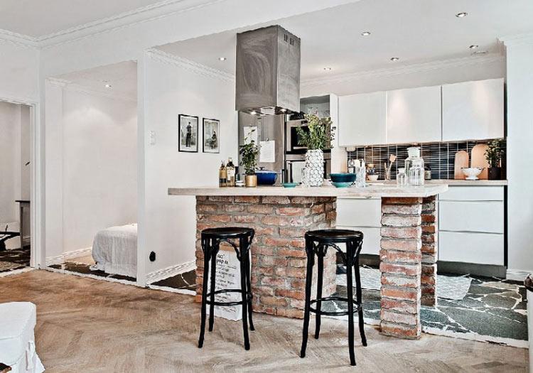 cozinha-americana-tijolo-aparente