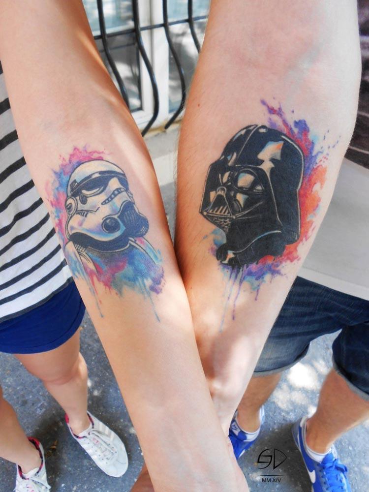 casal-tatuagem-star-wars