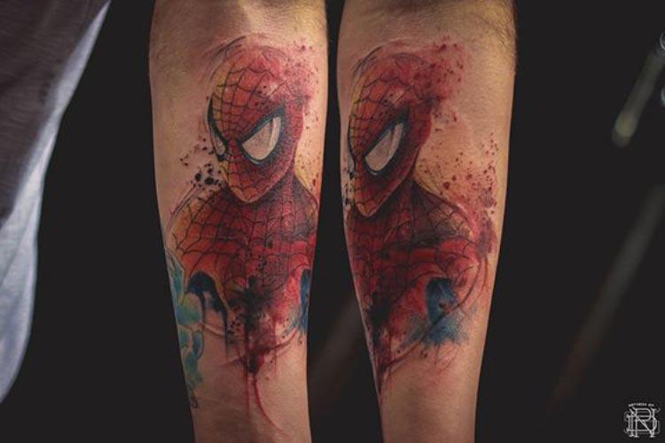 tatuagem-spiderman