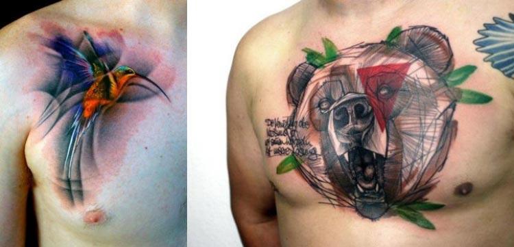 tatuagens-masculinas-aquarela