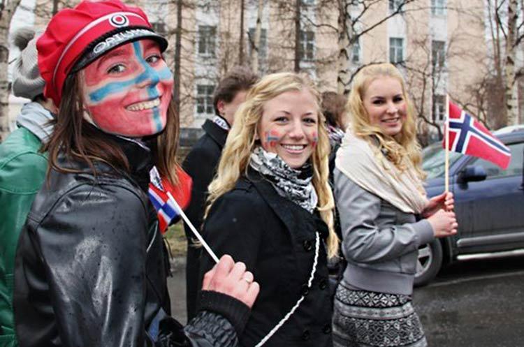 norueguesas-felizes
