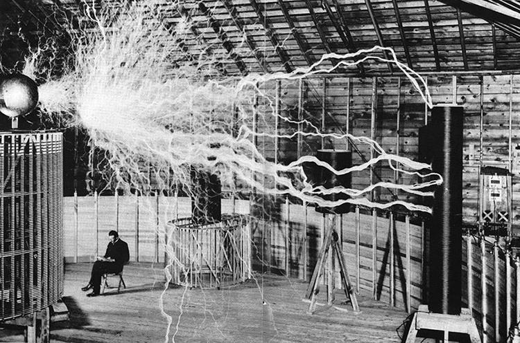 Nikola-Tesla-transmissor