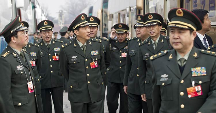 militares-chineses