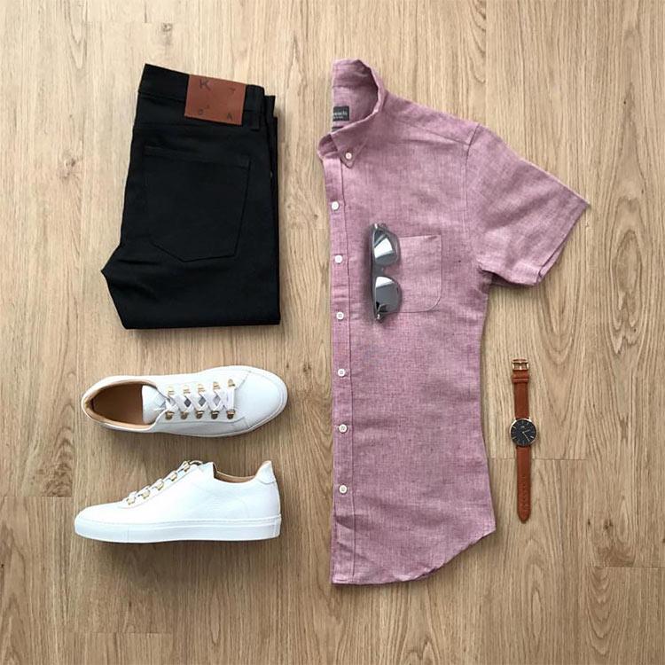 camisa-linho-manga-curta-masculina