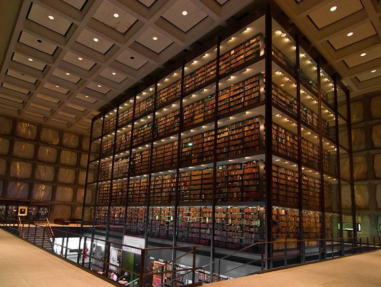 Biblioteca-Beinecke-de-Manuscritos-e-Livros-Raros