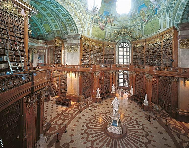 Biblioteca-Nacional-Austríaca-em-Viena