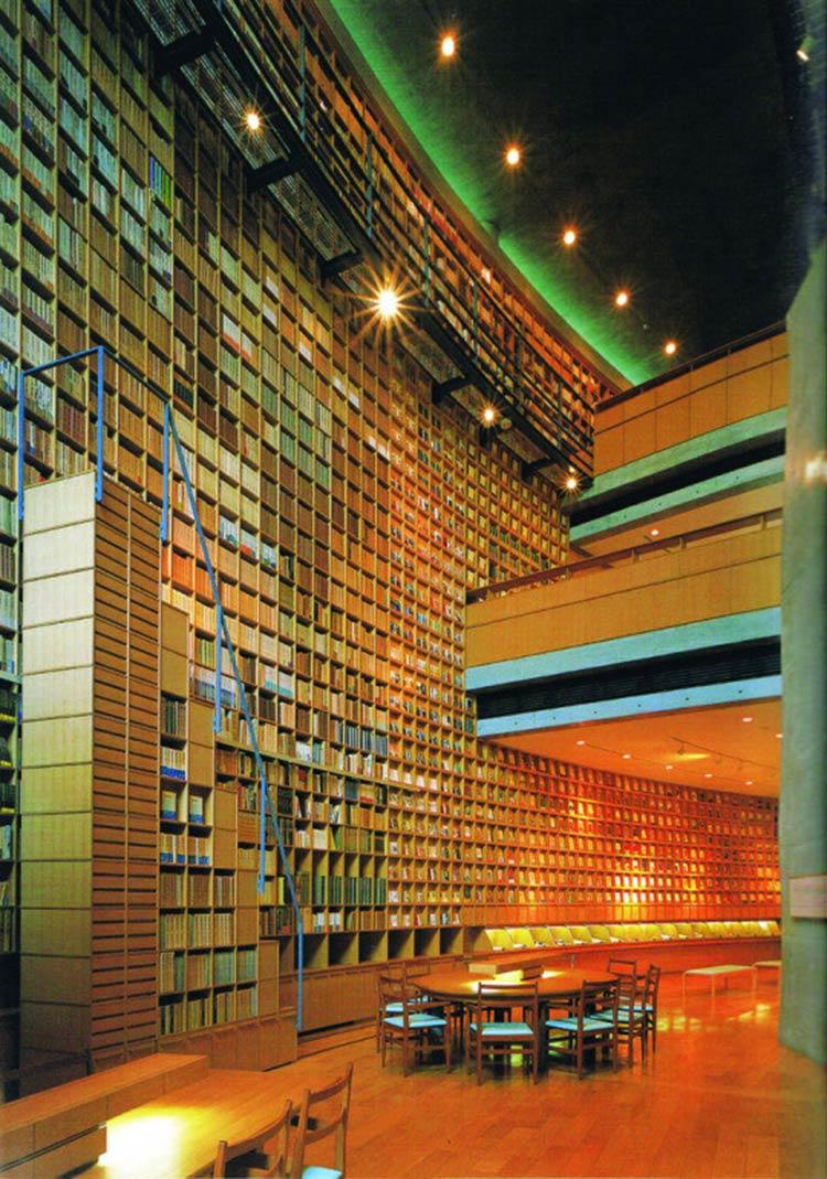 Biblioteca-do-Museu-Memorial-Shiba-Ryōtarō-em-Higashiosaka