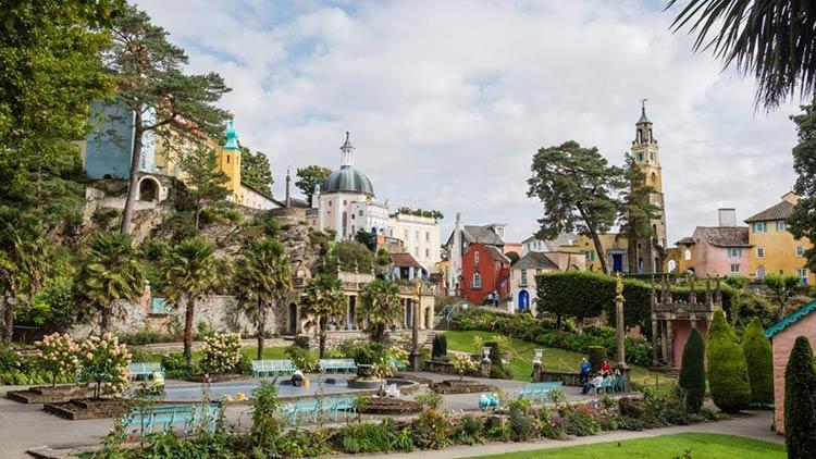 Portmeirion-País-de-Gales
