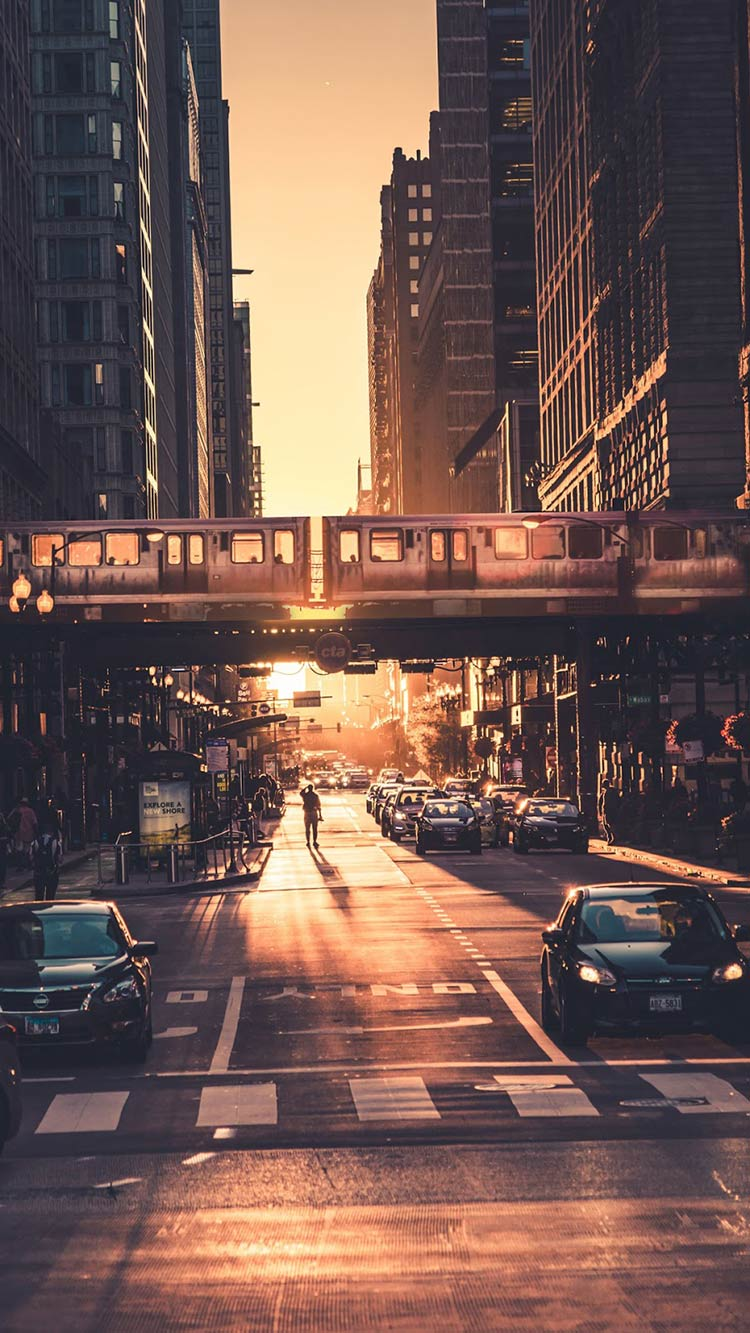 city-golden-hour