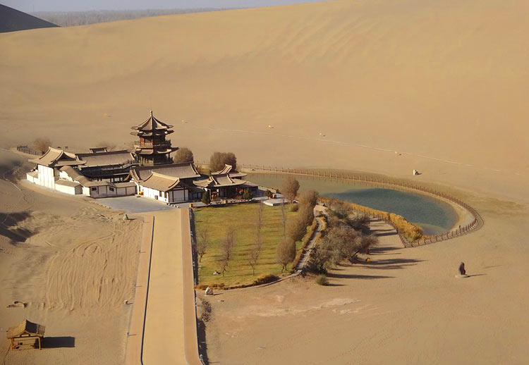 Dunhuang-oasis