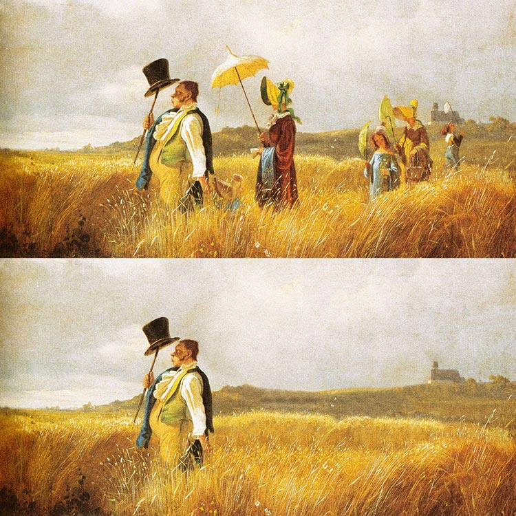 1585838512_529_Artist-Re-Imagines-Classic-Paintings-To-Obey-Social-Distancing-Rules-During